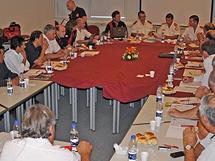 Reunión de la Academia Nacional.