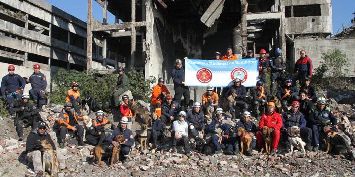 1º Encuentro Nacional de Unidades Caninas de Bomberos Voluntarios