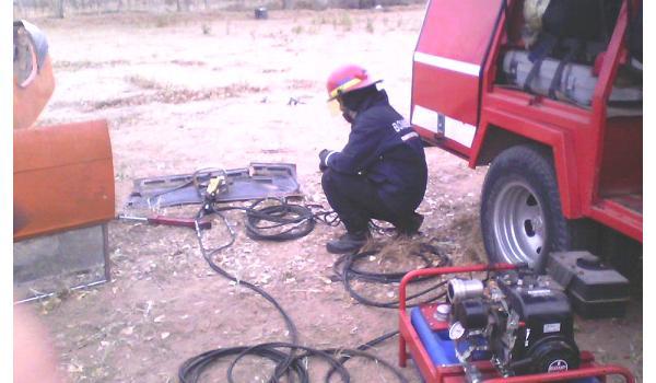 Curso de Rescate Vehicular Liviano