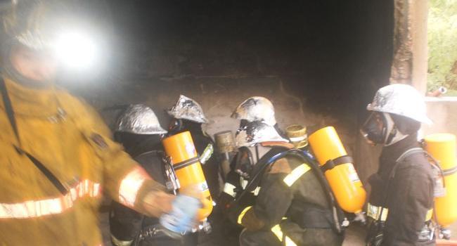 Curso de Incendios Estructurales Nivel 2, en Villa Mercedes, San Luis.
