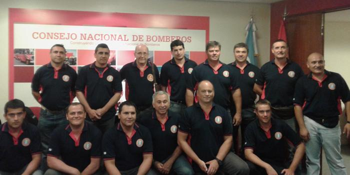 Bomberos argentinos se capacitan en Italia