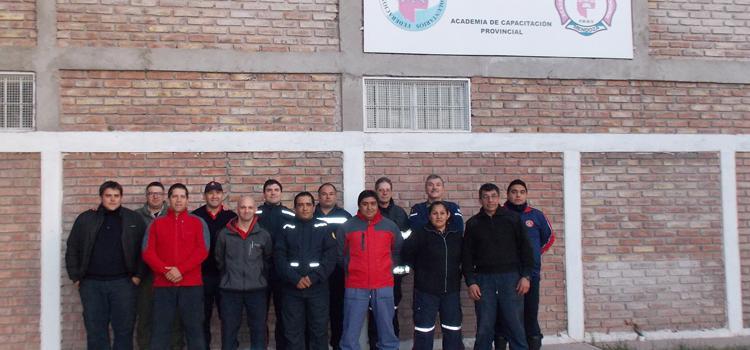 Curso de Sistemas de comando de Incidentes en Federación Mendoza
