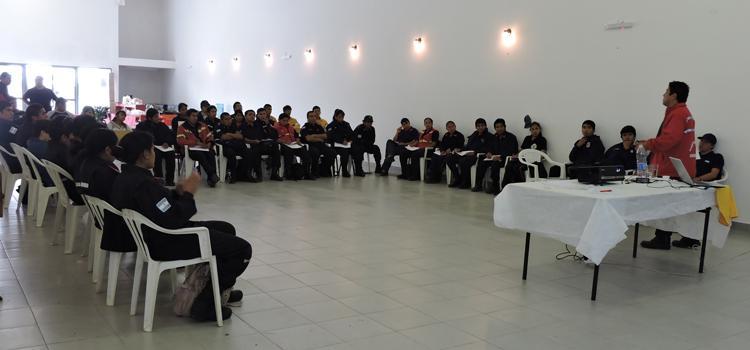 Curso de Seguridad del Bombero en Federación  Jujuy el 24 de Mayo