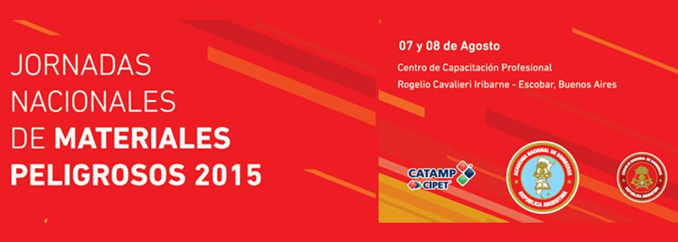 Jornadas Nacionales de Materiales Peligrosos 2015