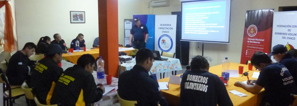 Capacitación del Departamento Comando de Incidentes en Chaco