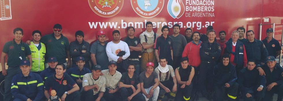 Bomberos de Catamarca se capacitaron en el CEMEC