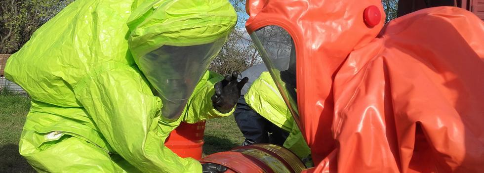 Los bomberos voluntarios de La Pampa se capacitaron en materiales peligrosos