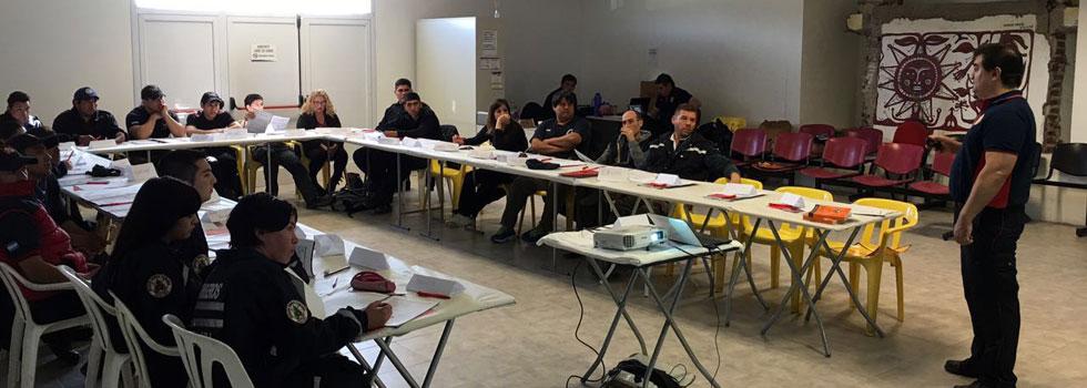 Capacitación del Departamento Materiales Peligrosos en Río Negro