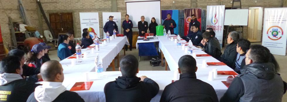 Departamento Psicología de la Emergencia en Chaco: la importancia del cuidado mental del bombero