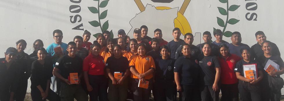 El Departamento Materiales Peligrosos brindó una capacitación a los bomberos de Jujuy