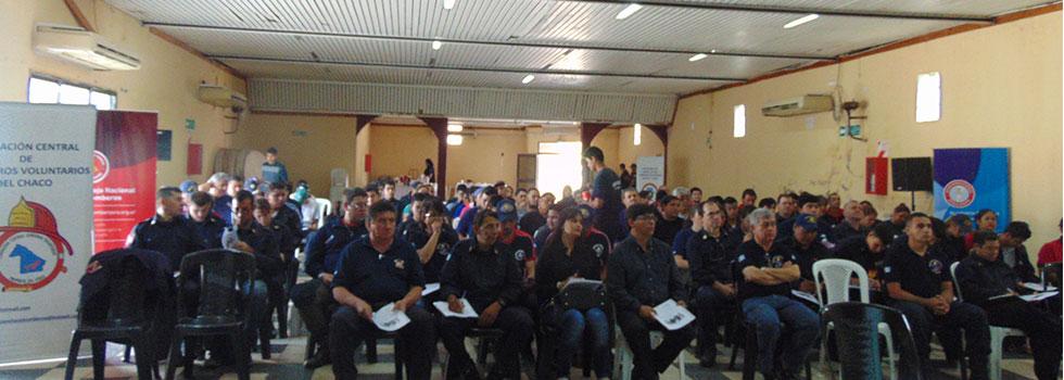 Departamento Seguridad del Bombero capacitó a los bomberos del Chaco