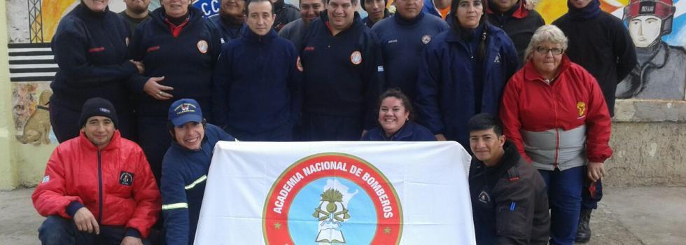 Los bomberos de San Juan se capacitaron en Socorrismo
