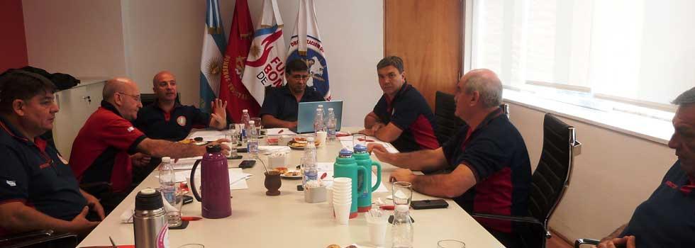 Primera reunión del año de Mesa Ejecutiva de la ANB