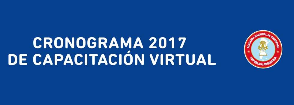 Agendate las fechas de los cursos de Capacitación Virtual 2017