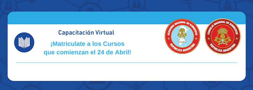 ¡Ya te podes anotar en los cursos de Capacitación Virtual!