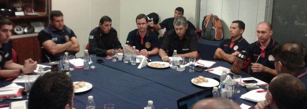 El Departamento de Rescate Vehicular trabajó sobre la planificación y contenidos 2017