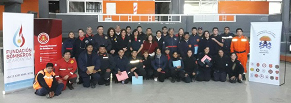 Capacitación del Departamento de Psicología de la Emergencia en Tucumán