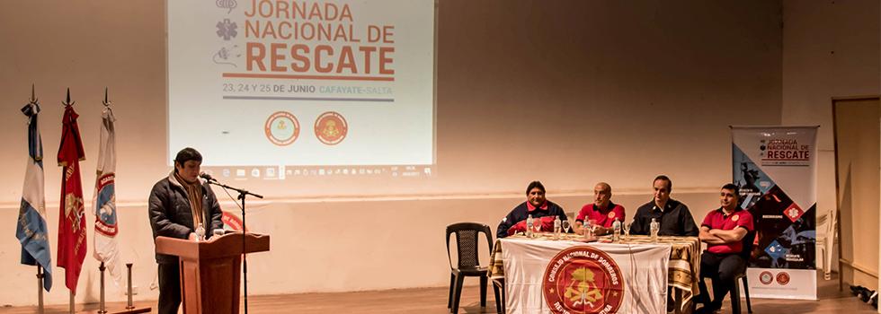 Jornada Nacional de Rescate: Un encuentro de formación y camaradería