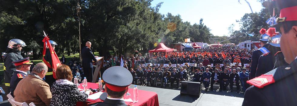 FESTEJO por el dia nacional del bombero voluntario