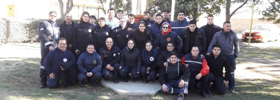 Una nueva capacitación del Departamento de Socorrismo en Río Negro