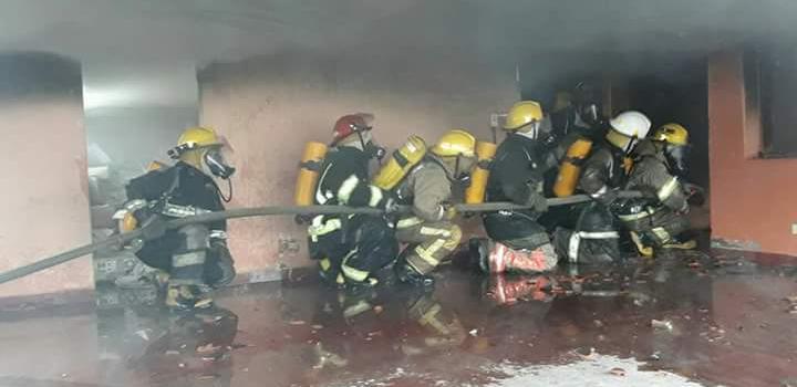 CURSO DE INCENDIOS ESTRUCTURALES EN CHACO