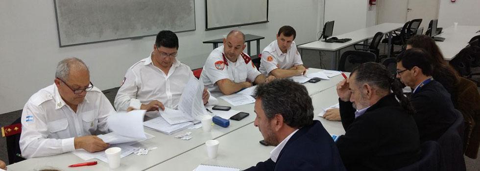 Mesa de Trabajo sobre Reducción de Riesgos de Desastres en el Ministerio de Seguridad