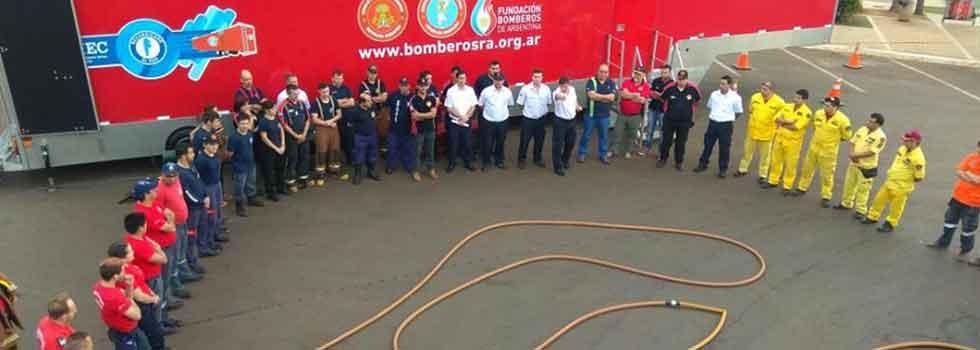 Encuentro Internacional de bomberos de la Triple Frontera