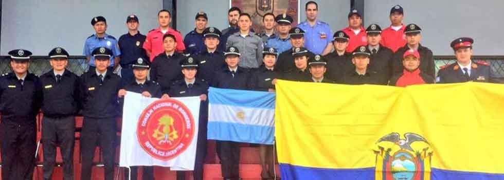 Participación de Instructores de la ANB en capacitación internacional
