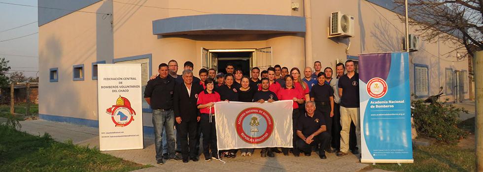 Los bomberos de la Federación Chaco se capacitaron en pedagogía