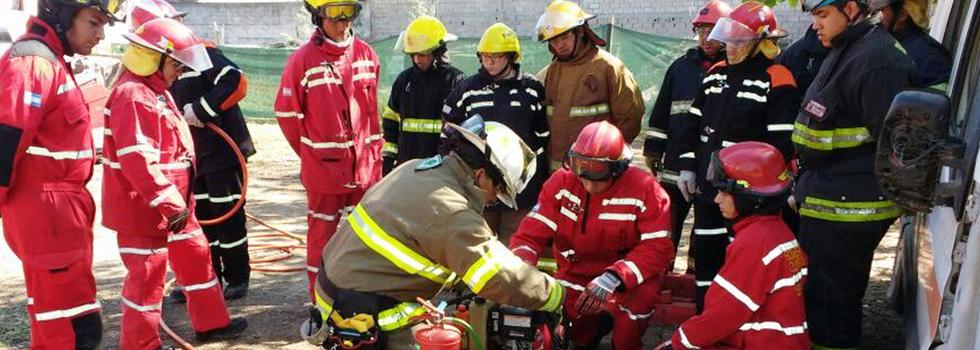 Jornada de Rescate Vehicular en La Rioja
