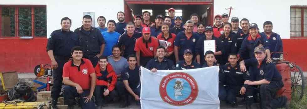 Bomberos Voluntarios de Catamarca se capacitaron en Rescate Vehicular