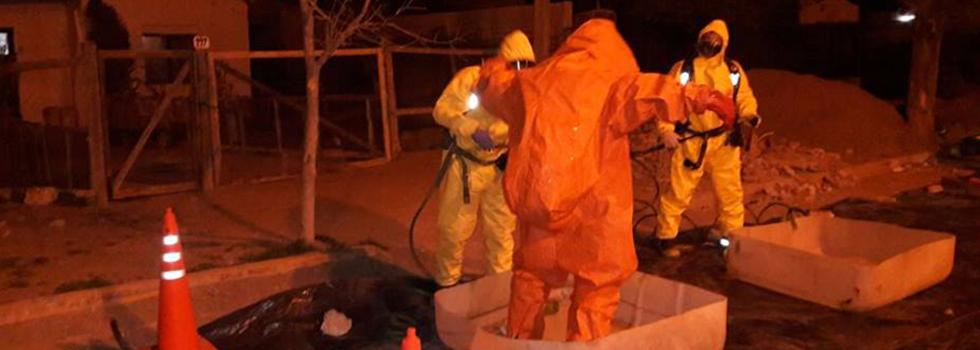Capacitación del Departamento de Materiales Peligrosos en Río Negro