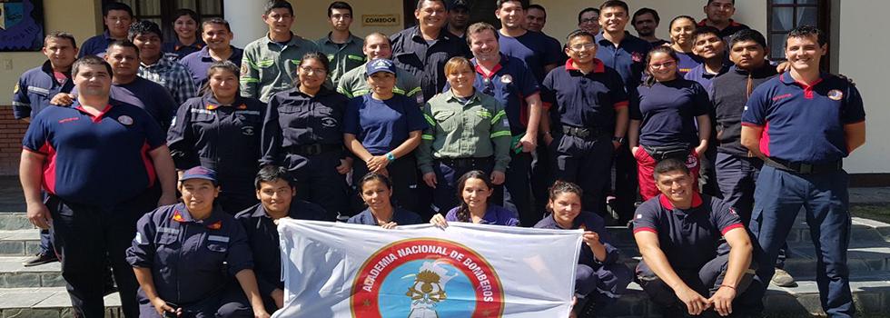 Los bomberos voluntarios de Salta se capacitaron en Socorrismo