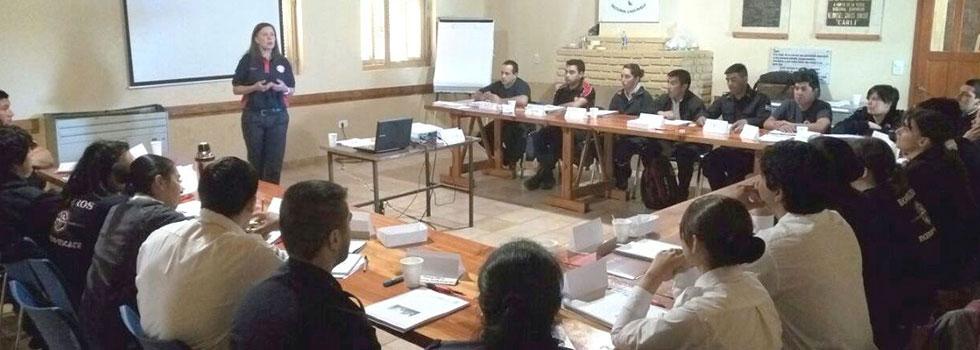 Los bomberos voluntarios de Chubut se capacitaron en pedagogía