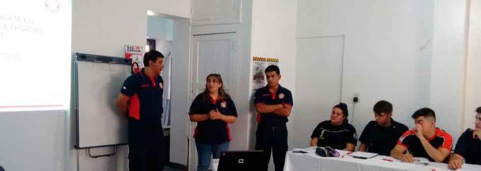 Jornadas de capacitación de Búsqueda y Rescate en Estructuras Colapsadas en San Juan