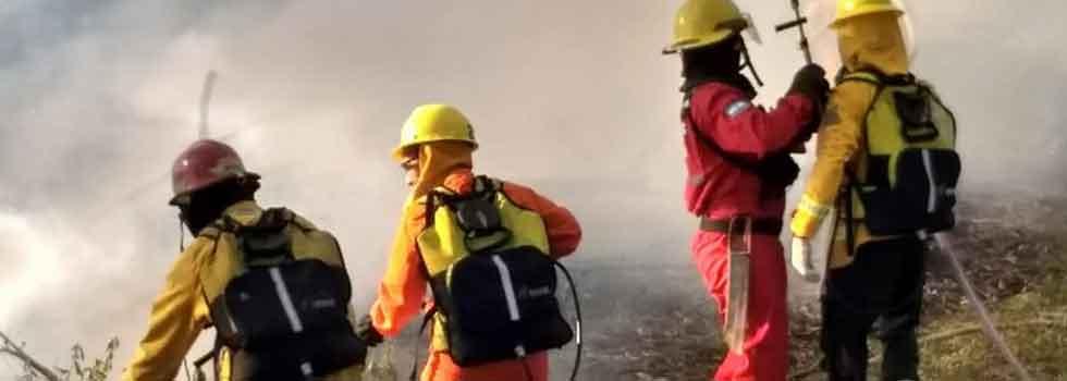 Capacitación del Departamento de Incendios Forestales en Corrientes