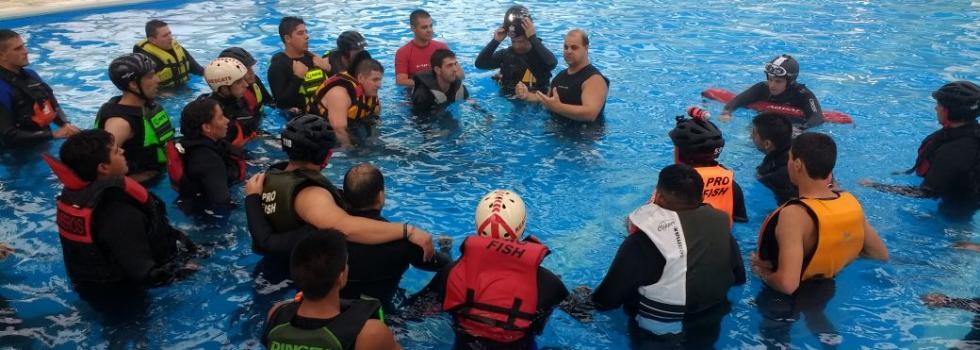 Capacitaciones 2018: Rescate Acuático en Entre Ríos