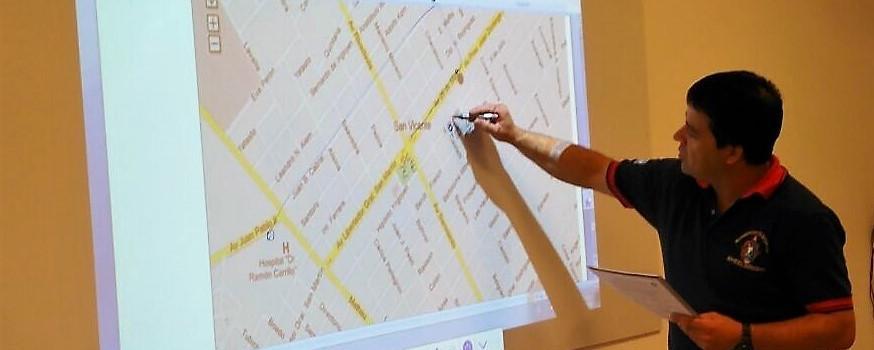 Capacitación del Departamento de Sistema de Comando de Incidentes en Santa Fe
