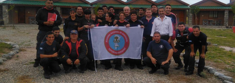 Los bomberos de San Luis se capacitaron en Comando de Incidentes