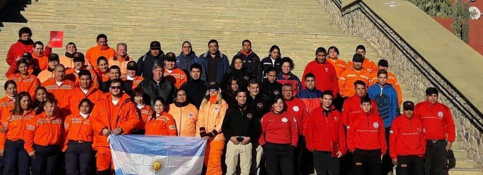 Capacitación del Departamento de Seguridad del Bombero en La Rioja