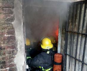 Los bomberos de Chaco se capacitaron en Incendios Estructurales