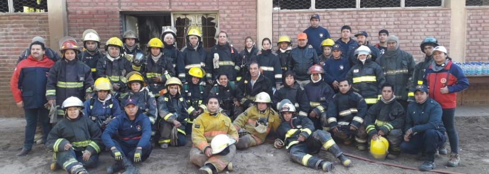 Capacitación del Departamento de Incendios Estructurales en Catamarca