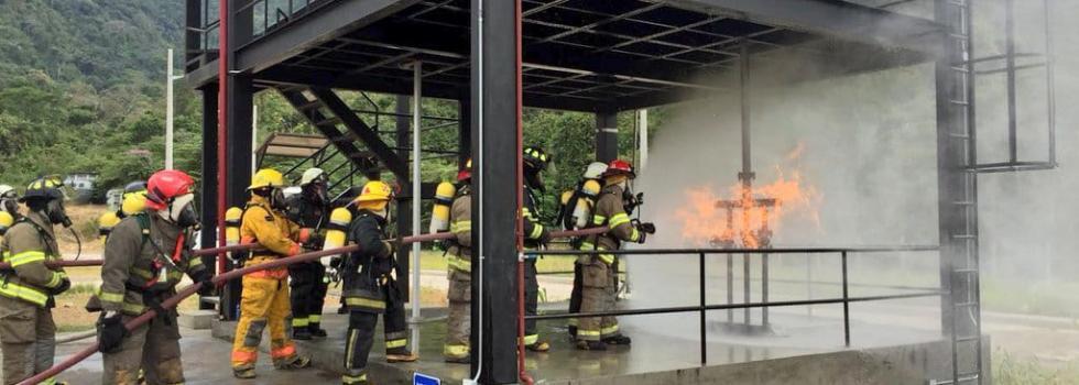 Curso OBA Control de Incendios Industriales: la experiencia en Guayaquil