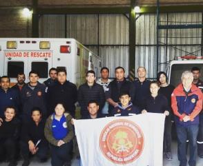 Los bomberos de Chaco se capacitaron en Pedagogía y Didáctica