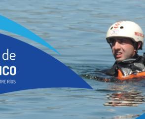En septiembre llegan las Jornadas Internacionales de Rescate Acuático