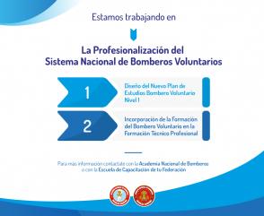 Importante avance hacia el reconocimiento del Plan de Estudios del Bombero Voluntario Nivel I