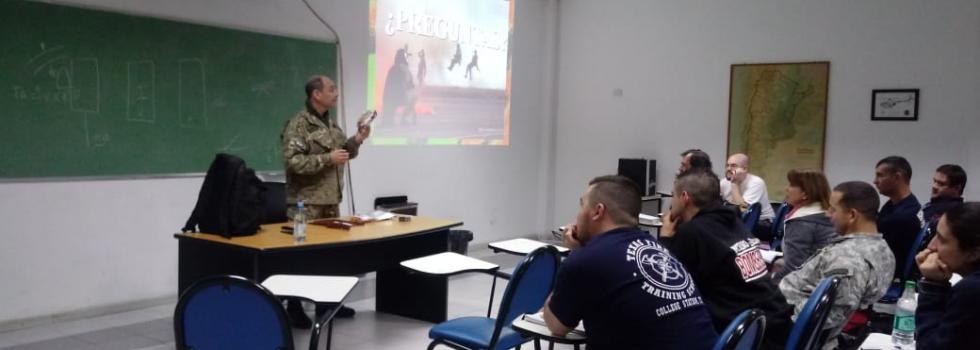 Participación de Instructor de Socorrismo en capacitación dictada por Fuerza Aérea