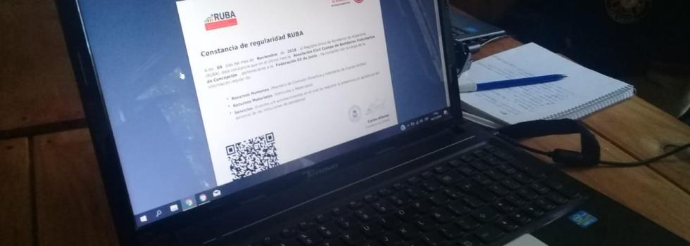 Capacitación de RUBA en la Federación 3 de Junio