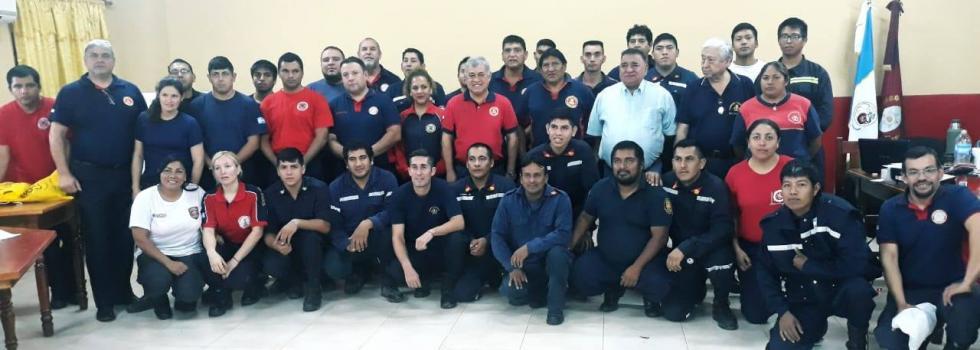 Bomberos de Salta se capacitaron en Rescate Vehicular