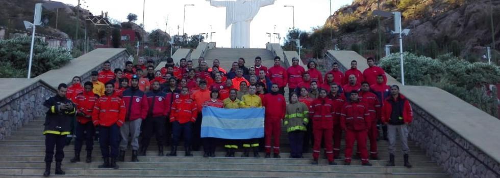 Capacitación de Incendios Forestales para Bomberos de La Rioja